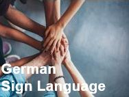 Link to German Sign Language program